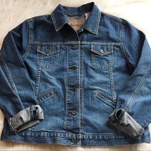Levi's denim jean jacket XL